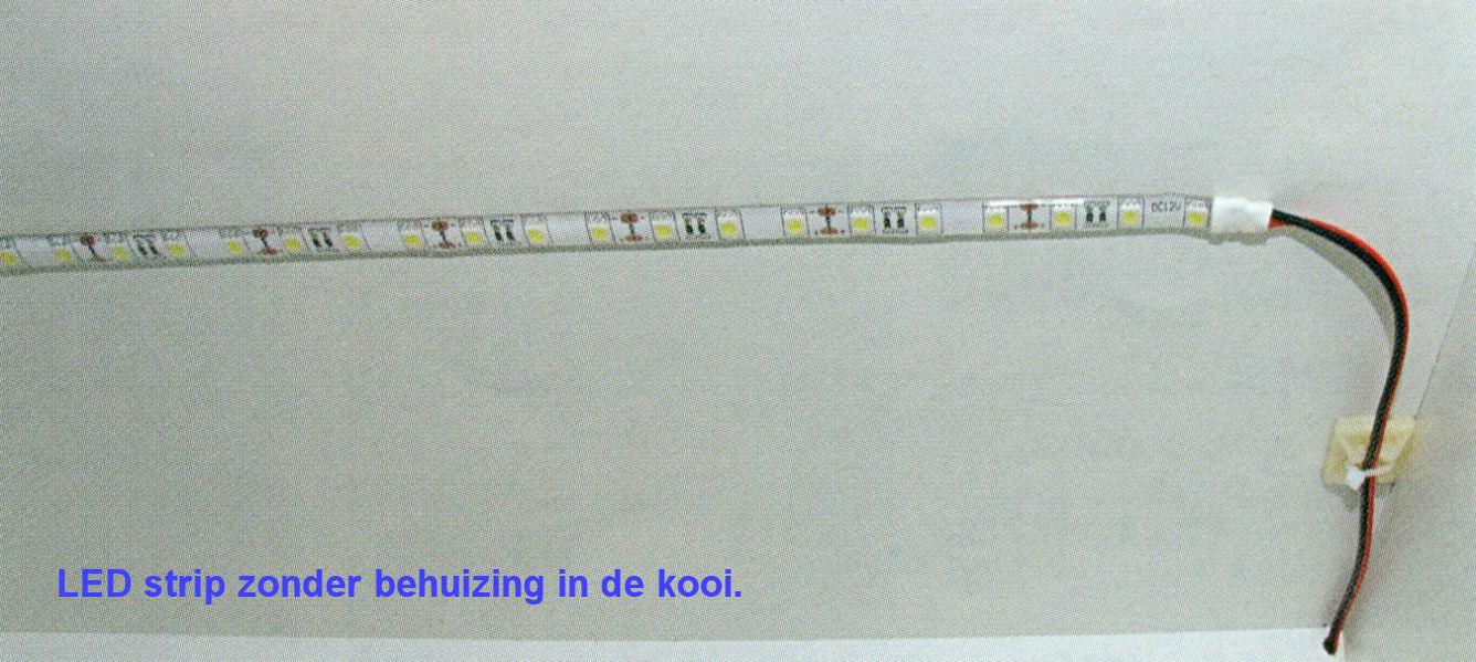 LED strip zonder behuizing in de kooi